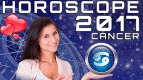 cancer horoscope 2017
