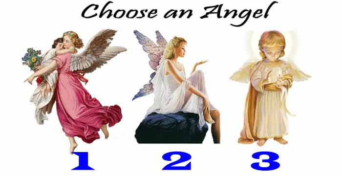 Choose an Angel oracle and receive their messages
