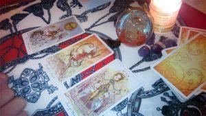 Three card tarot reading