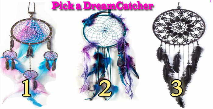 Pick a dreamcatcher to receive a spiritual awakening to make your dreams come true