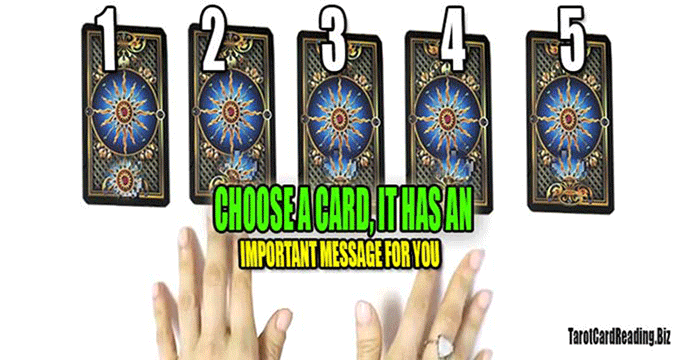 Tarot guide. You have 5 seconds to choose a card, you will receive a reveal
