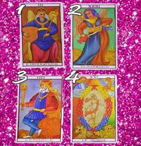 Tarot card love