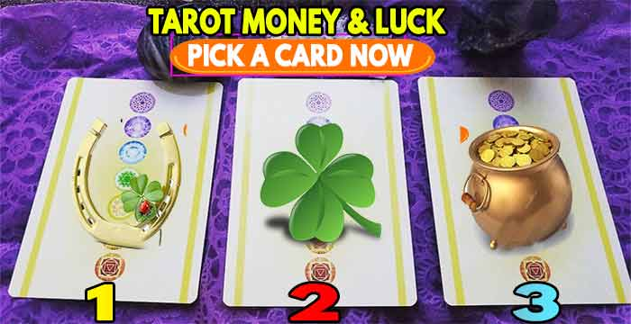 Tarot luck and fortune, pick a card and find out if you will be lucky