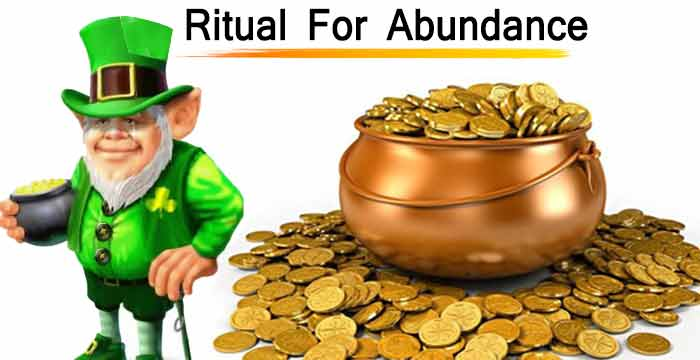 Ritual to attract abundance