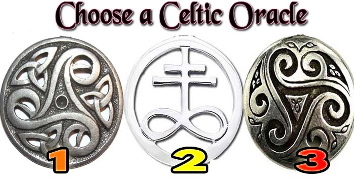The Celtic oracle will reveal events that the tarot can not