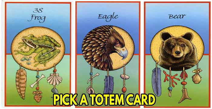 Choose your spirit animal TAROT card