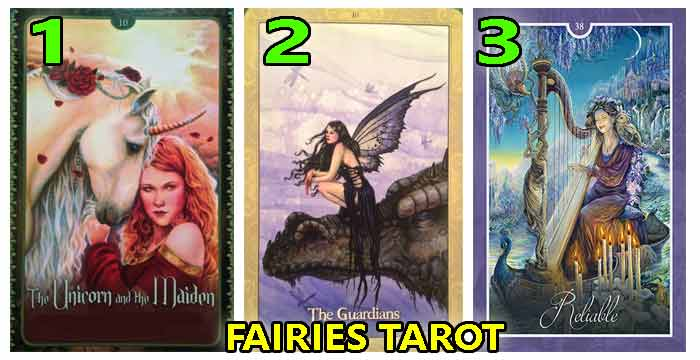 🧚Tarot of the FAIRIES -The most beautiful cards