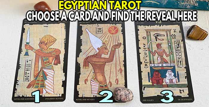 Use our EGYPTIAN TAROT ✨ The oldest and most revealing