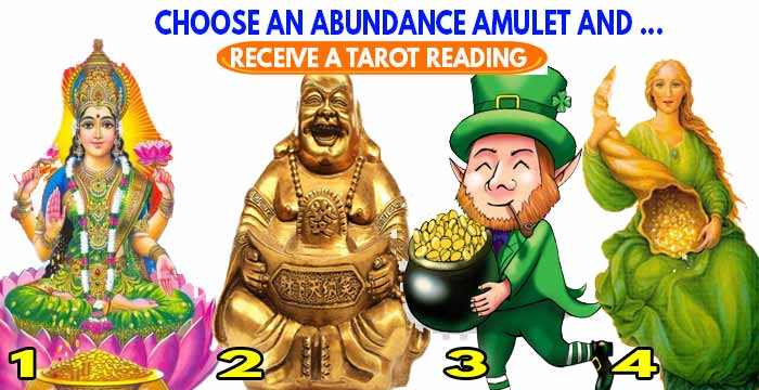 Receive the Tarot of INFINITE abundance 🍀