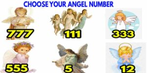 ⭐Choose your angelic number