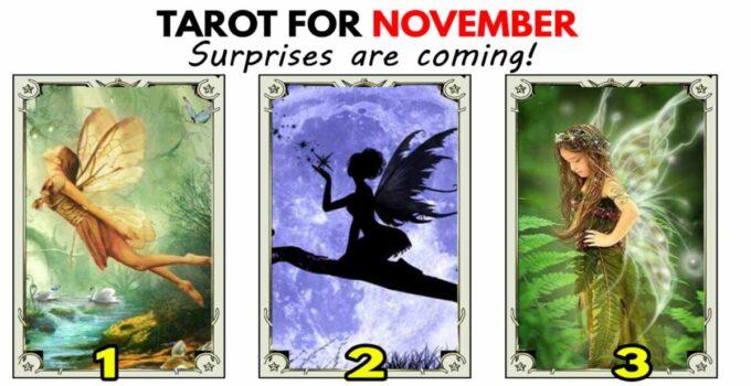 Tarot reading for November